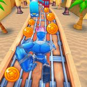 地铁机器人冲浪2